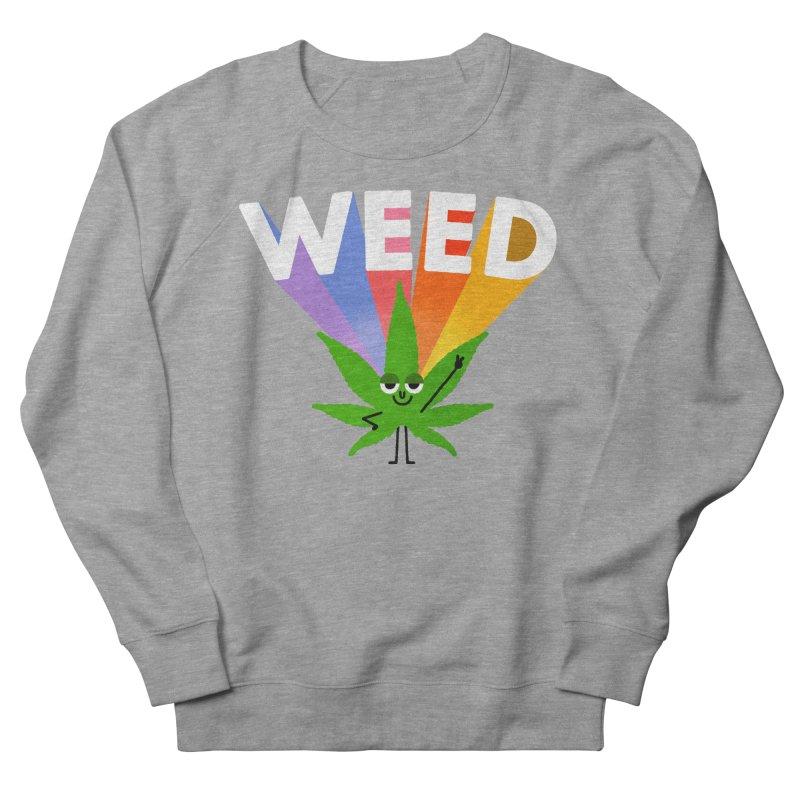 Weed Men's Sweatshirt by Mauro Gatti House of Fun
