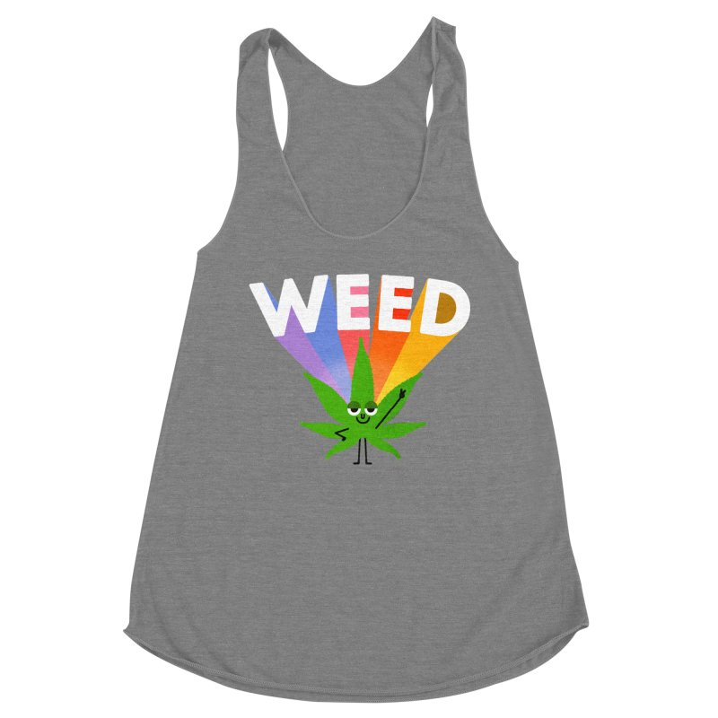 Weed Women's Tank by Mauro Gatti House of Fun