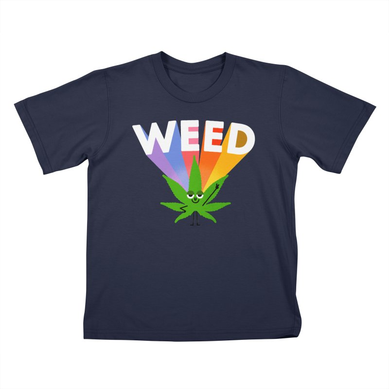 Weed Kids T-Shirt by Mauro Gatti House of Fun