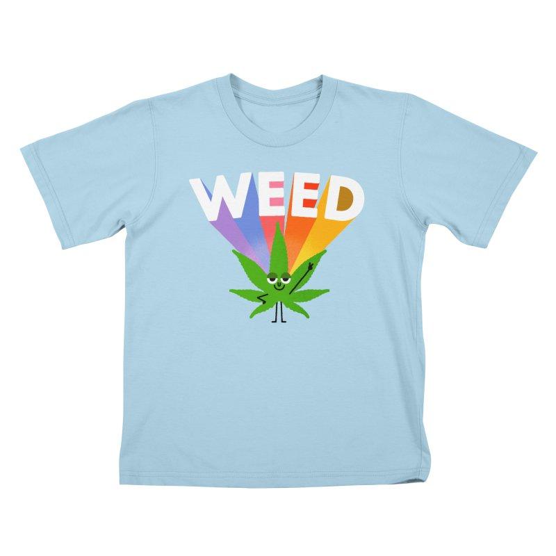 Weed Kids T-Shirt by Mauro Gatti House of Fun