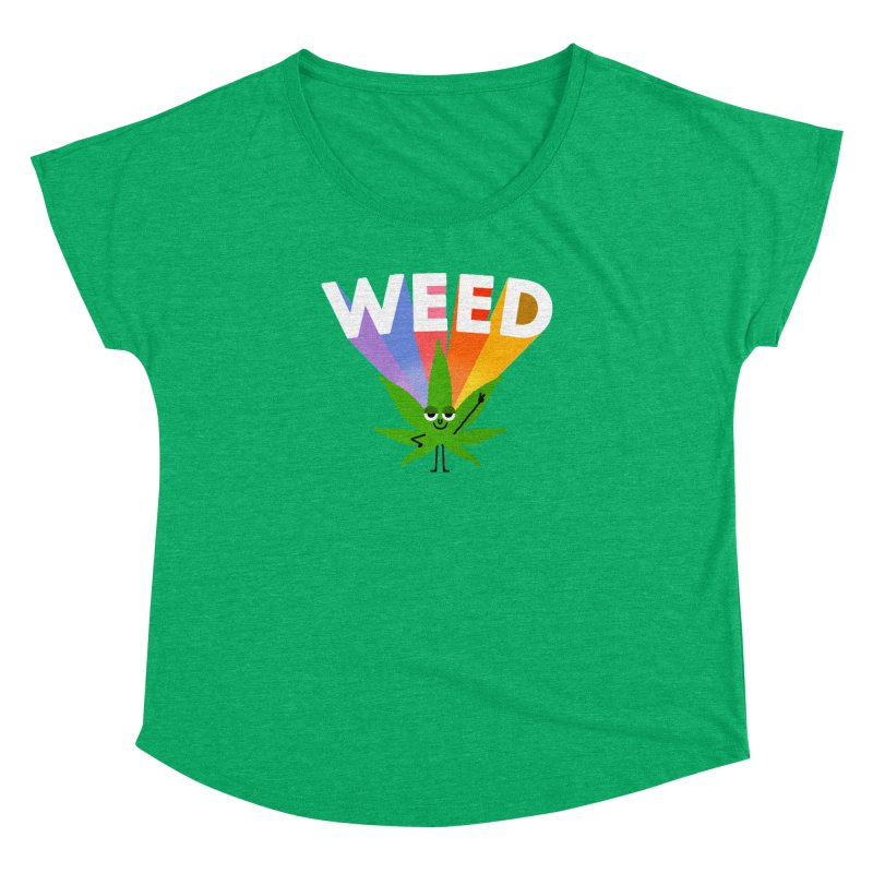 Weed Women's Dolman by Mauro Gatti House of Fun