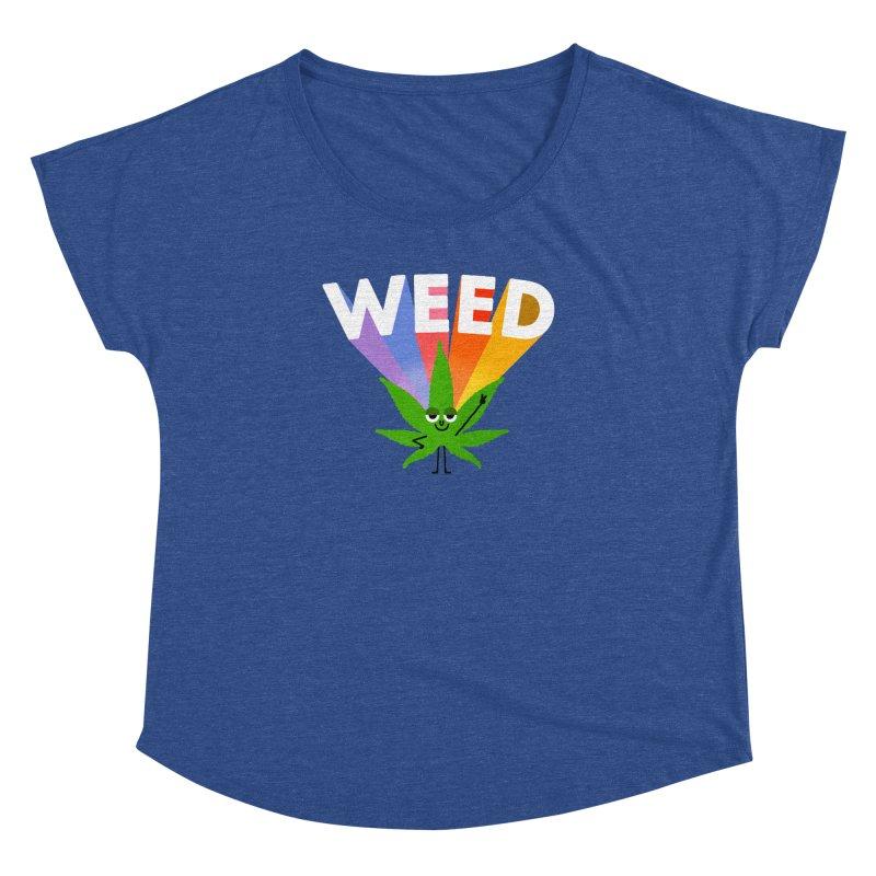 Weed Women's Dolman by Mauro Gatti House of Fun