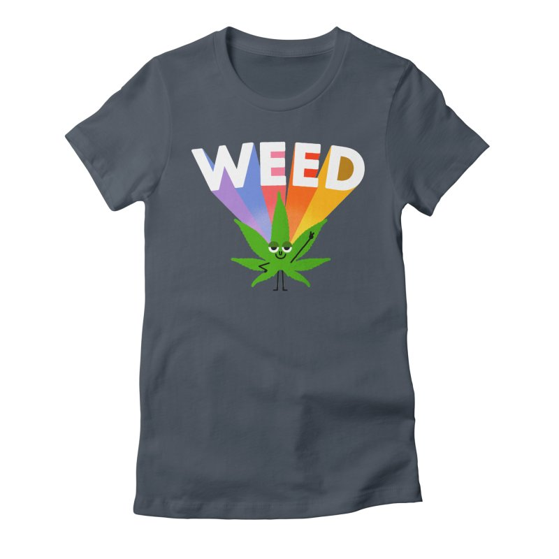 Weed Women's T-Shirt by Mauro Gatti House of Fun