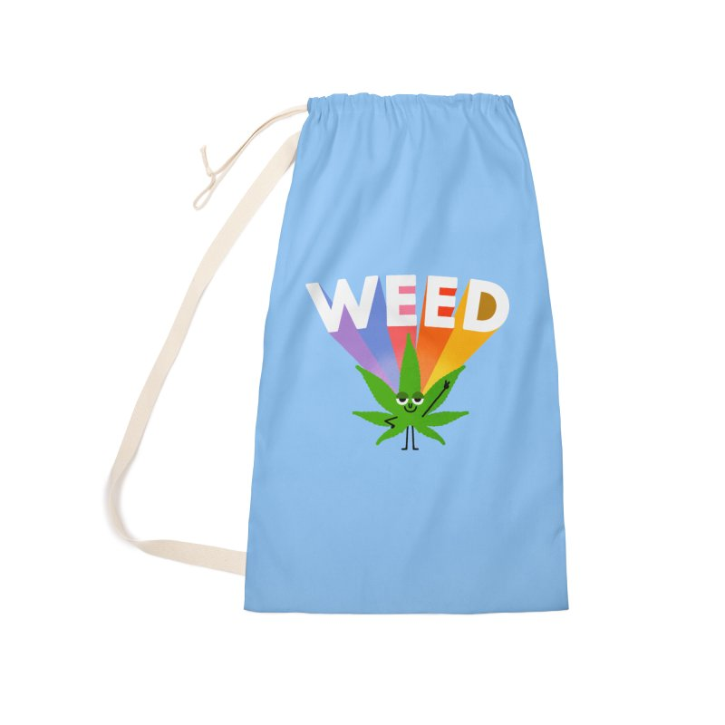 Weed Accessories Laundry Bag Bag by Mauro Gatti House of Fun