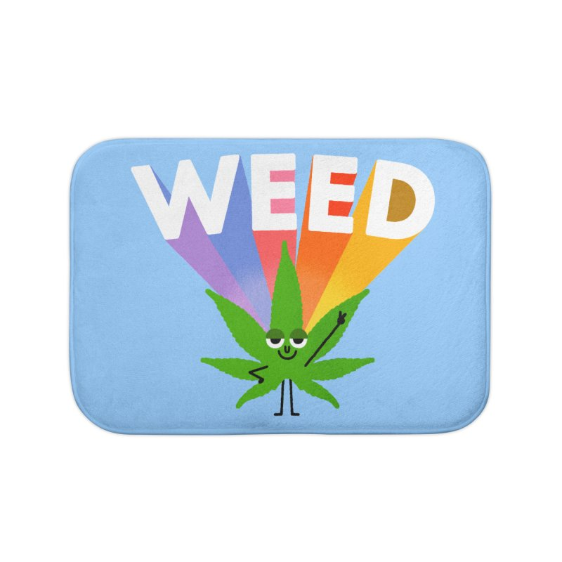 Weed Home Bath Mat by Mauro Gatti House of Fun