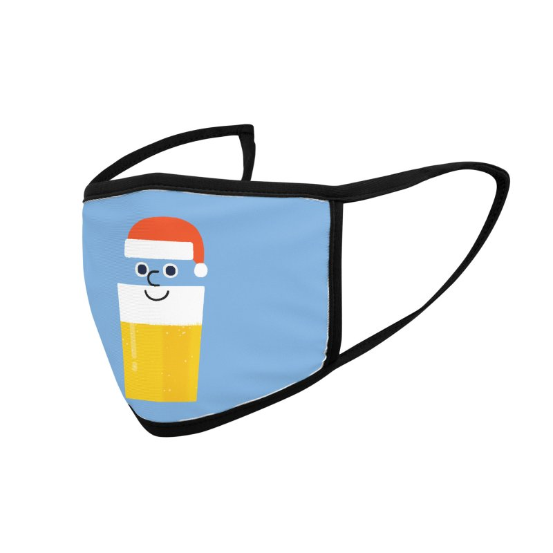 Beery Christmas Accessories Face Mask by Mauro Gatti House of Fun