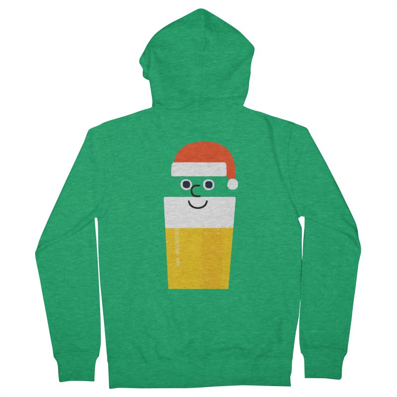 Beery Christmas Women's Zip-Up Hoody by Mauro Gatti House of Fun