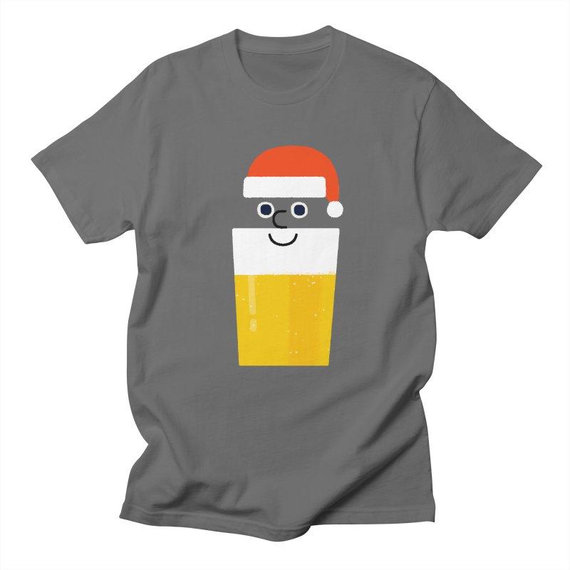 Beery Christmas Men's T-Shirt by Mauro Gatti House of Fun