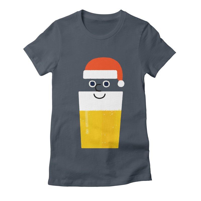 Beery Christmas Women's T-Shirt by Mauro Gatti House of Fun