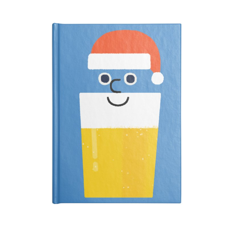 Beery Christmas Accessories Notebook by Mauro Gatti House of Fun
