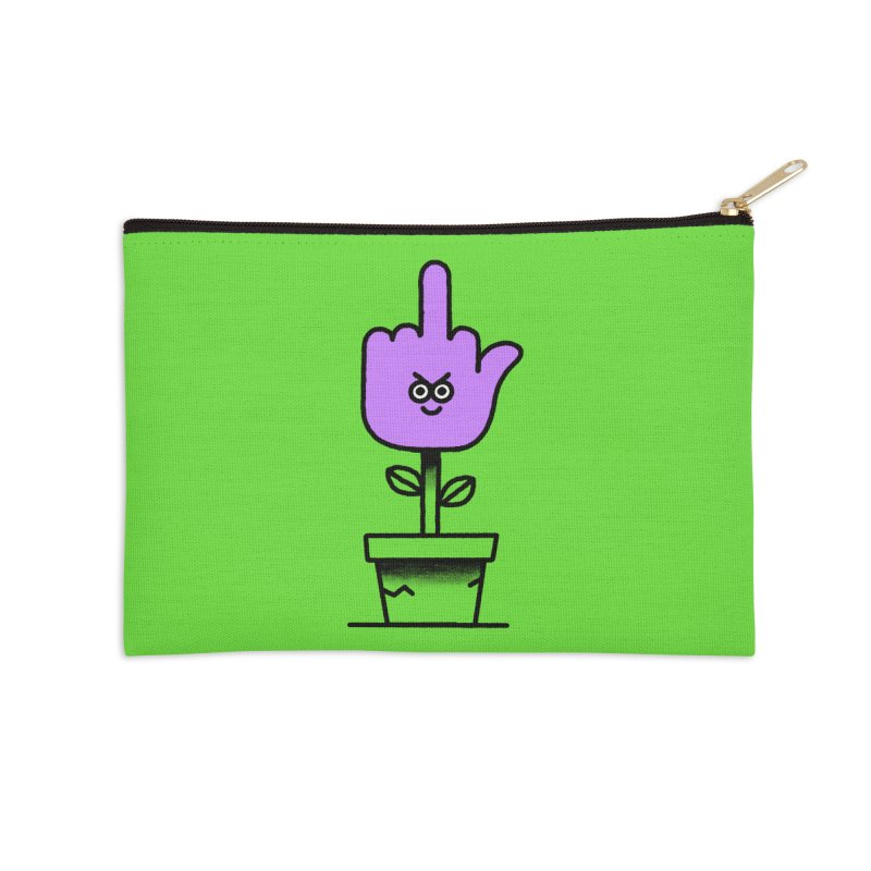 A message from Nature Accessories Zip Pouch by Mauro Gatti House of Fun