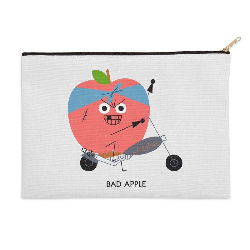 Bad Apple Accessories Zip Pouch by Mauro Gatti House of Fun