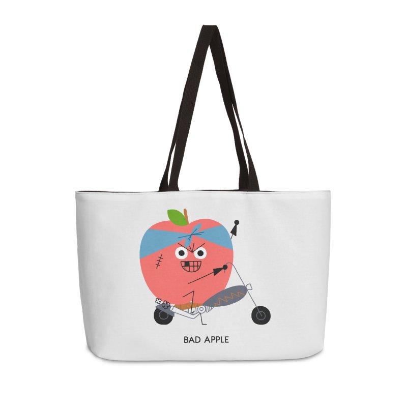 Bad Apple Accessories Weekender Bag Bag by Mauro Gatti House of Fun