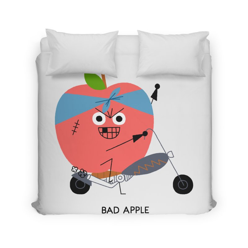 Bad Apple Home Duvet by Mauro Gatti House of Fun