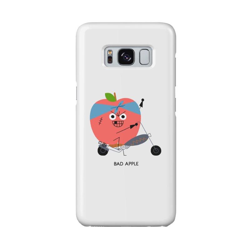 Bad Apple Accessories Phone Case by Mauro Gatti House of Fun