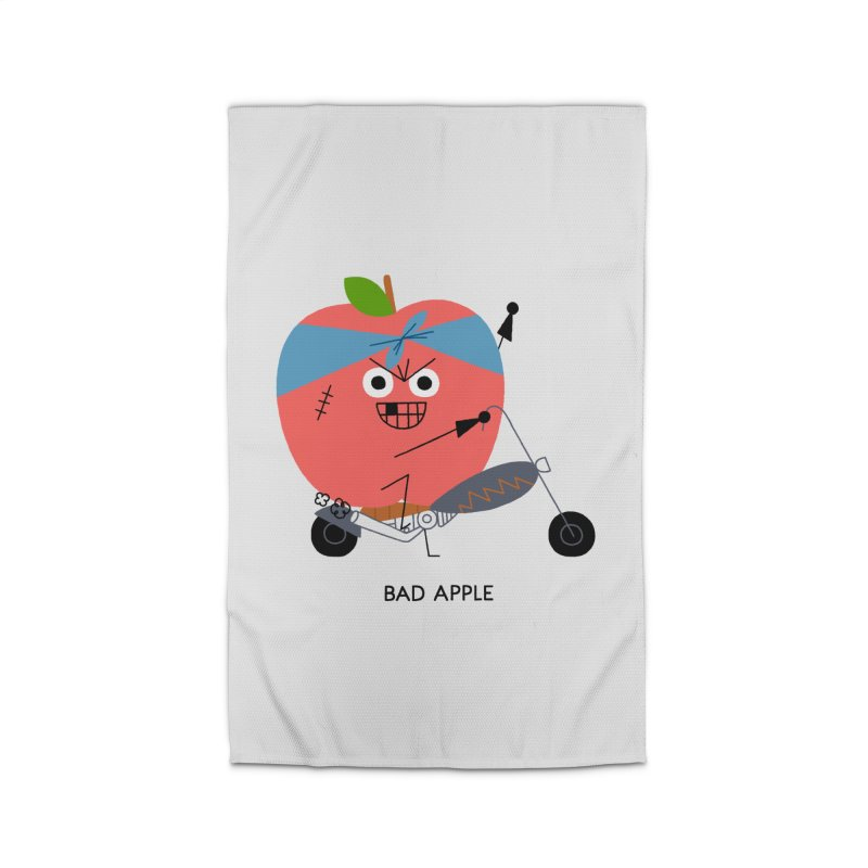 Bad Apple Home Rug by Mauro Gatti House of Fun