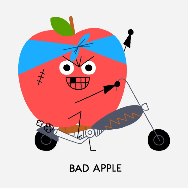 Bad Apple Kids Baby T-Shirt by Mauro Gatti House of Fun
