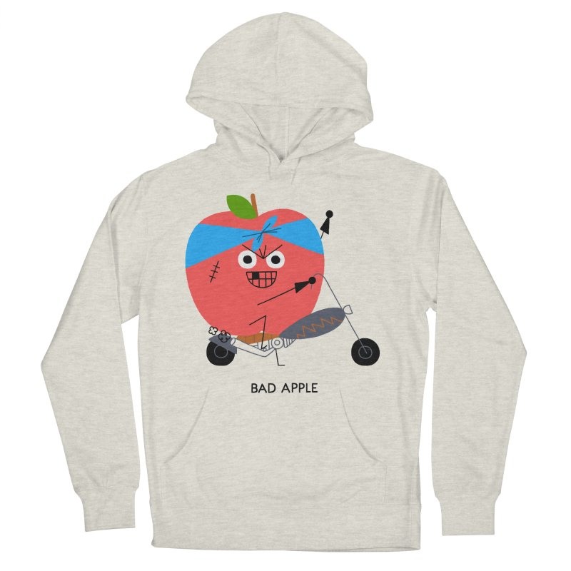 Bad Apple Women's Pullover Hoody by Mauro Gatti House of Fun