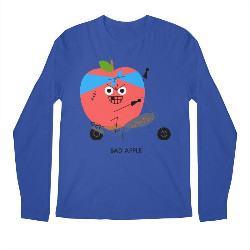 Bad Apple Men's Regular Longsleeve T-Shirt by Mauro Gatti House of Fun