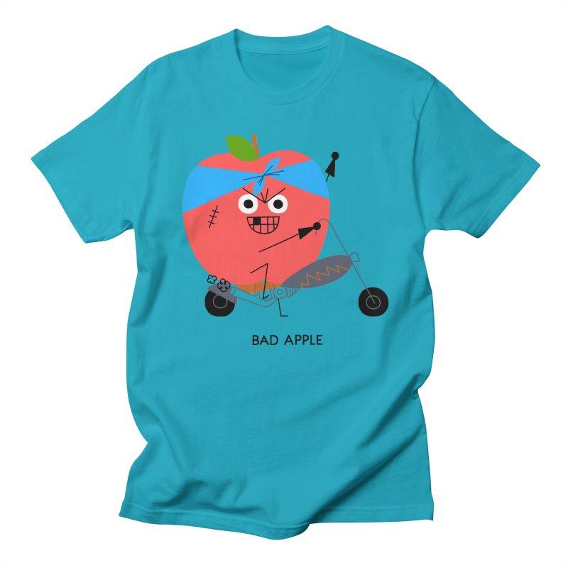 Bad Apple Men's Regular T-Shirt by Mauro Gatti House of Fun