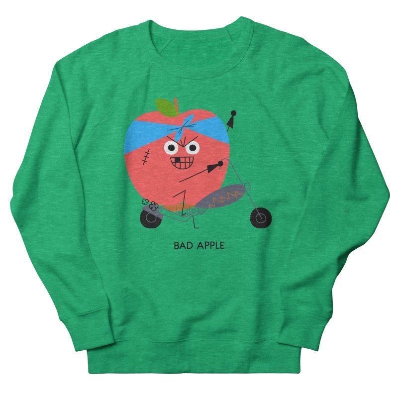 Bad Apple Men's Sweatshirt by Mauro Gatti House of Fun