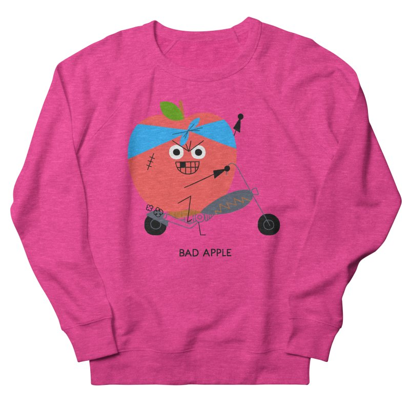 Bad Apple Men's Sweatshirt by Mauro Gatti House of Fun