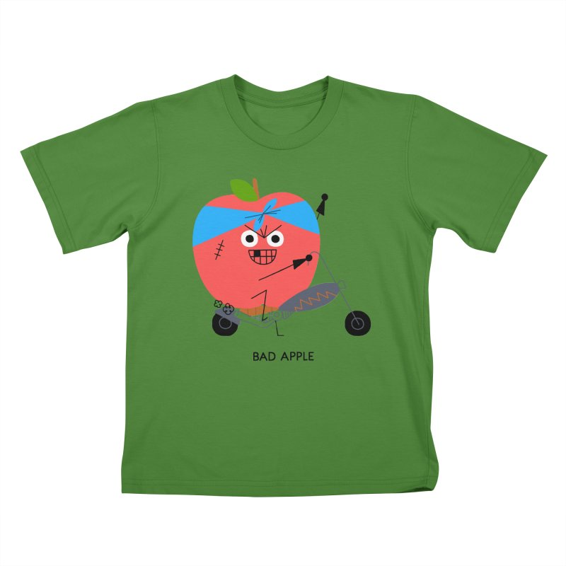 Bad Apple Kids T-shirt by Mauro Gatti House of Fun
