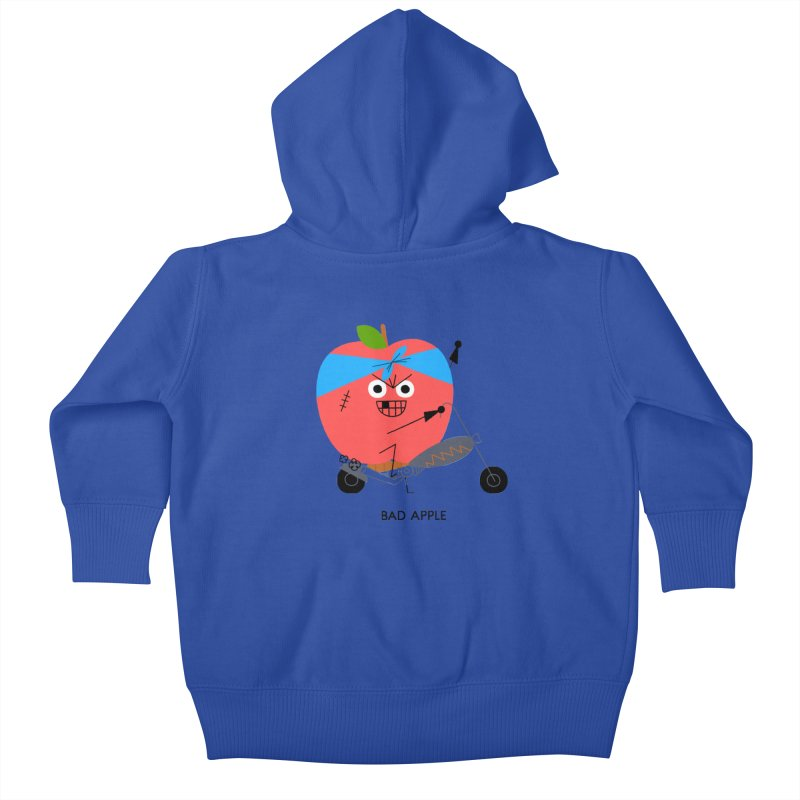Bad Apple Kids Baby Zip-Up Hoody by Mauro Gatti House of Fun