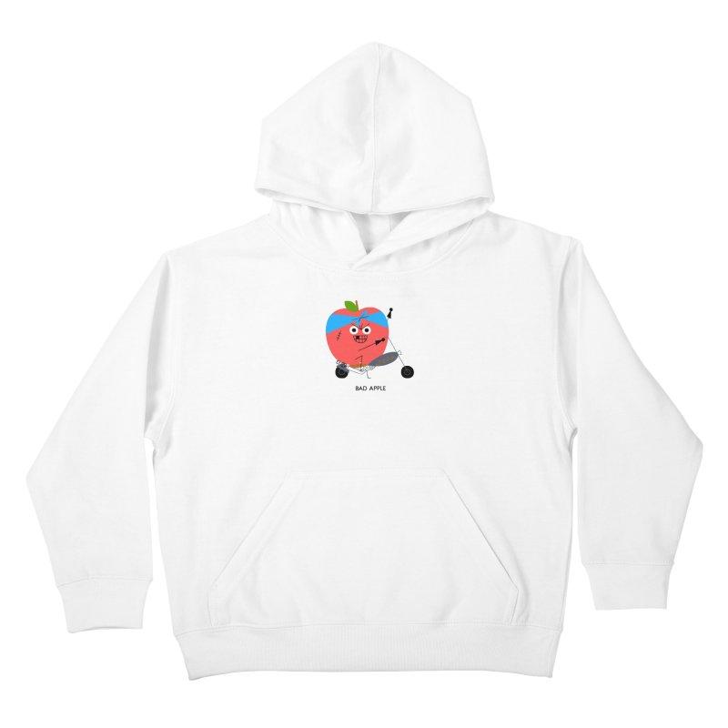 Bad Apple Kids Pullover Hoody by Mauro Gatti House of Fun
