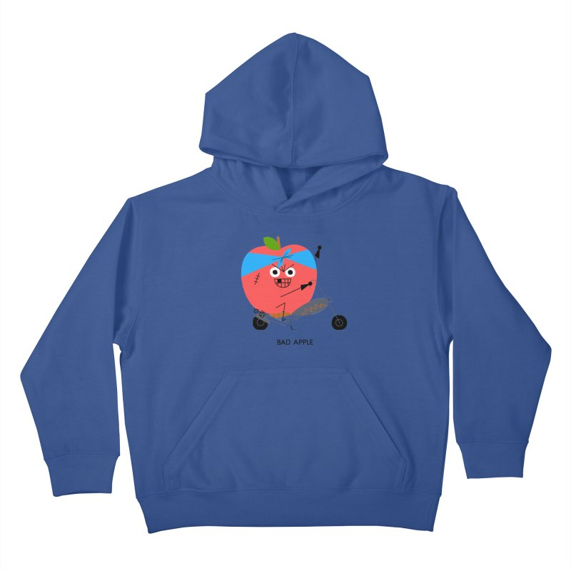 Bad Apple Kids Pullover Hoody by Mauro Gatti House of Fun