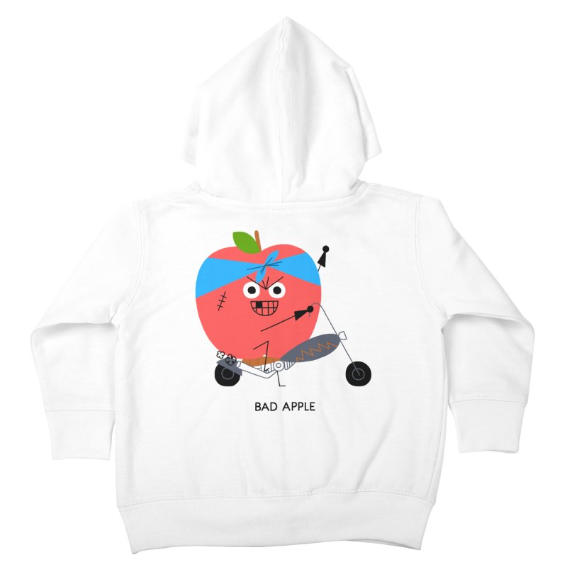 Bad Apple Kids Toddler Zip-Up Hoody by Mauro Gatti House of Fun