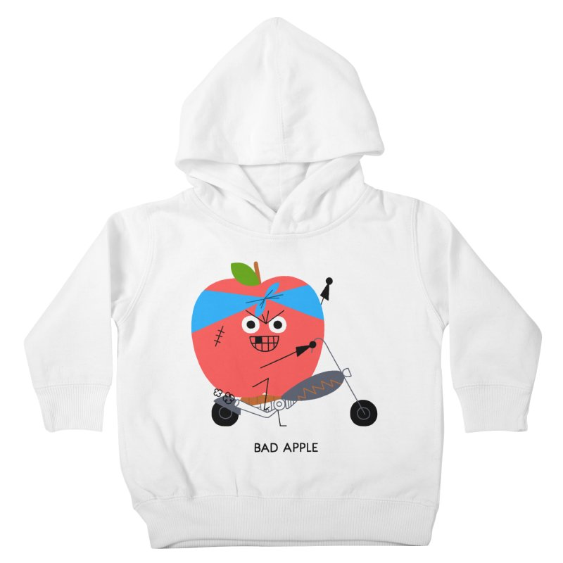 Bad Apple Kids Toddler Pullover Hoody by Mauro Gatti House of Fun