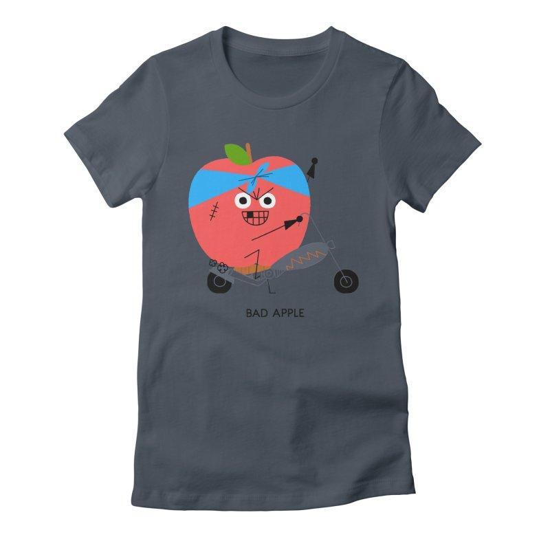 Bad Apple Women's T-Shirt by Mauro Gatti House of Fun