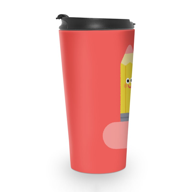 My pencil is longer than yours Accessories Travel Mug by Mauro Gatti House of Fun