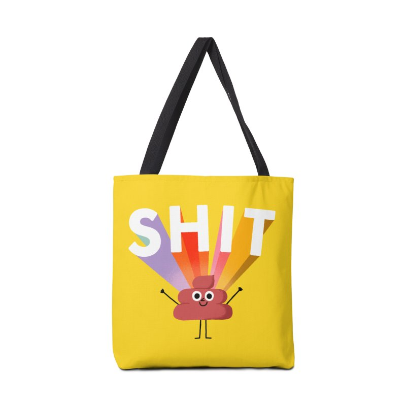 Shit Accessories Tote Bag Bag by Mauro Gatti House of Fun