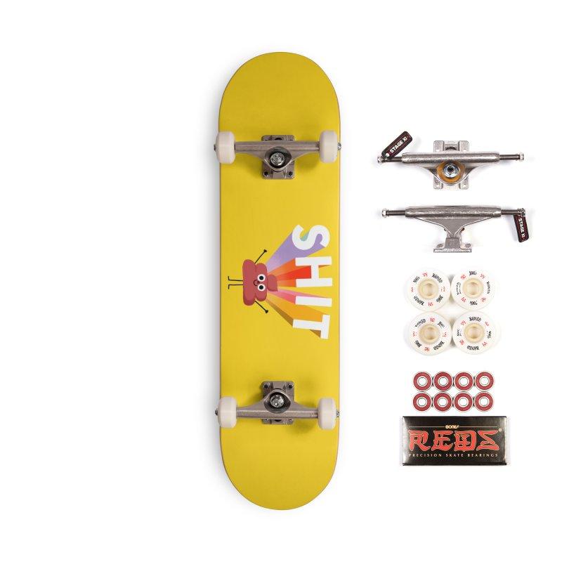Shit Accessories Skateboard by Mauro Gatti House of Fun
