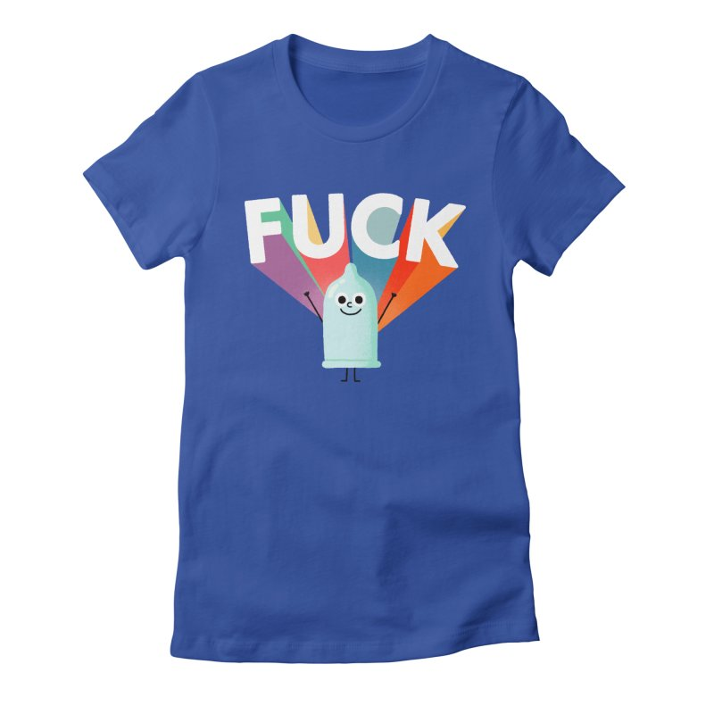 Fuck Women's Fitted T-Shirt by Mauro Gatti House of Fun