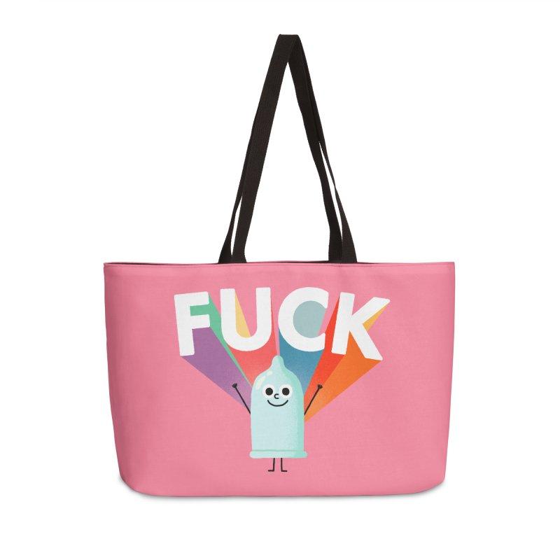 Fuck Accessories Weekender Bag Bag by Mauro Gatti House of Fun