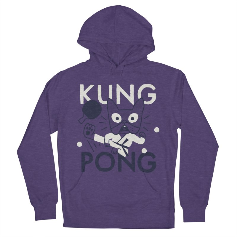 Kung Pong Men's Pullover Hoody by Mauro Gatti House of Fun