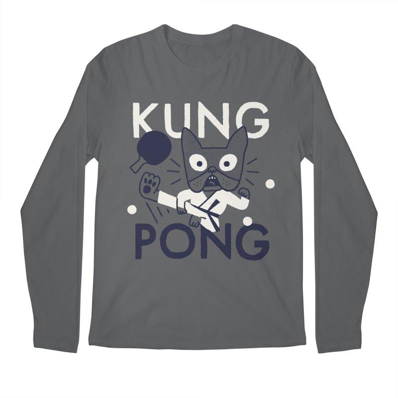 Kung Pong Men's Longsleeve T-Shirt by Mauro Gatti House of Fun