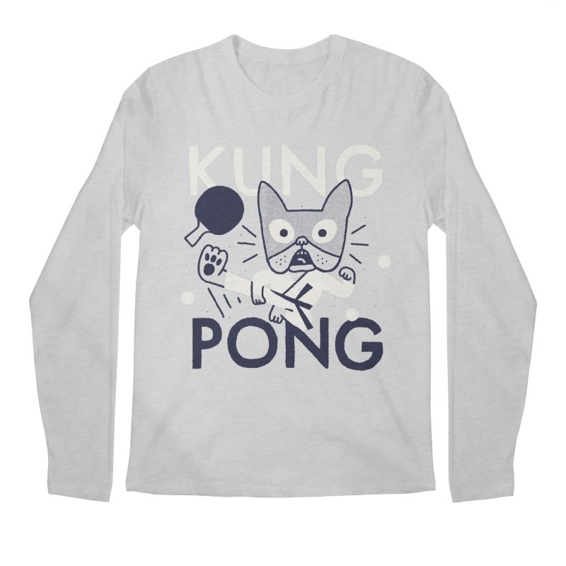 Kung Pong Men's Longsleeve T-Shirt by Mauro Gatti House of Fun