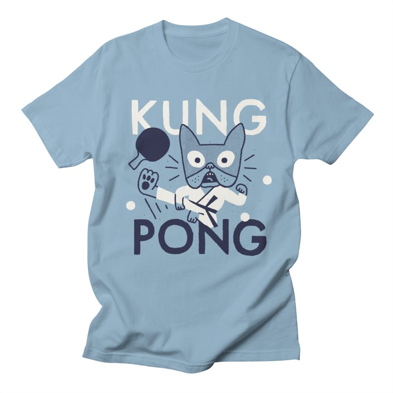 Kung Pong Men's T-Shirt by Mauro Gatti House of Fun