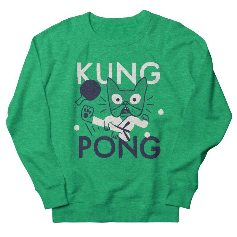 Kung Pong Women's Sweatshirt by Mauro Gatti House of Fun