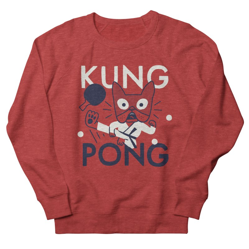 Kung Pong Women's Sweatshirt by Mauro Gatti House of Fun