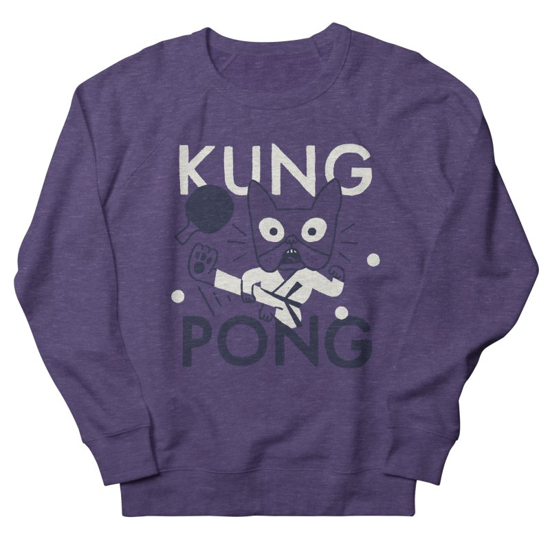 Kung Pong Men's Sweatshirt by Mauro Gatti House of Fun
