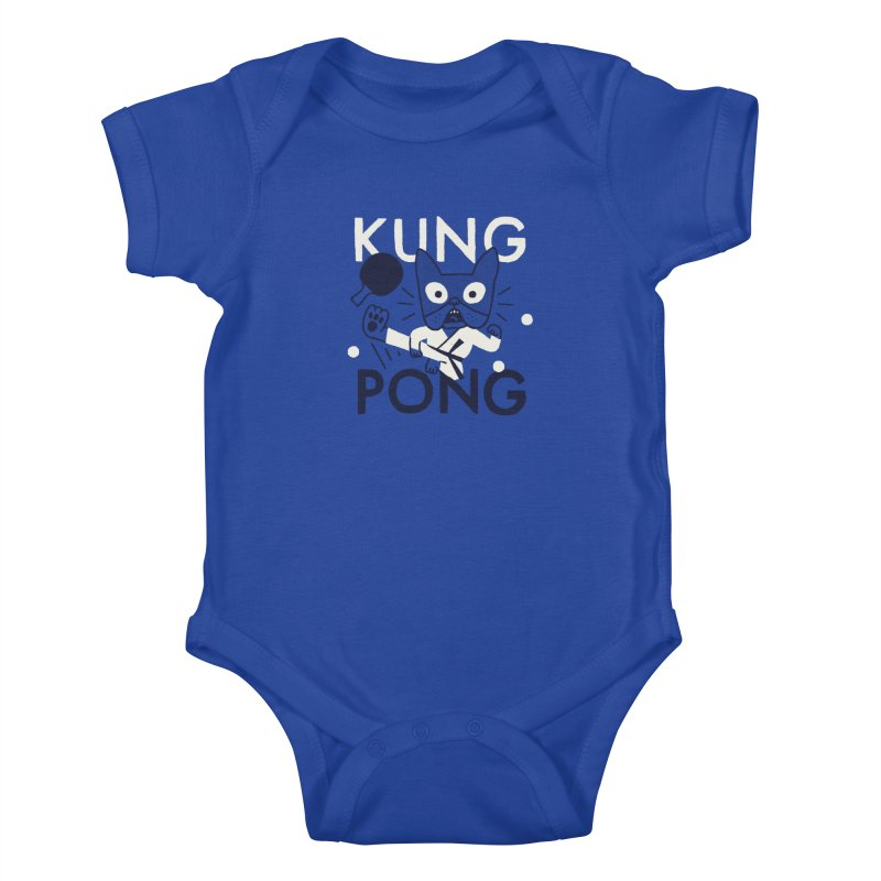 Kung Pong Kids Baby Bodysuit by Mauro Gatti House of Fun