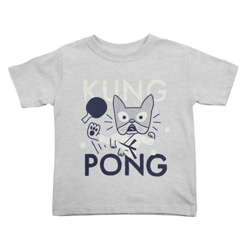 Kung Pong Kids Toddler T-Shirt by Mauro Gatti House of Fun