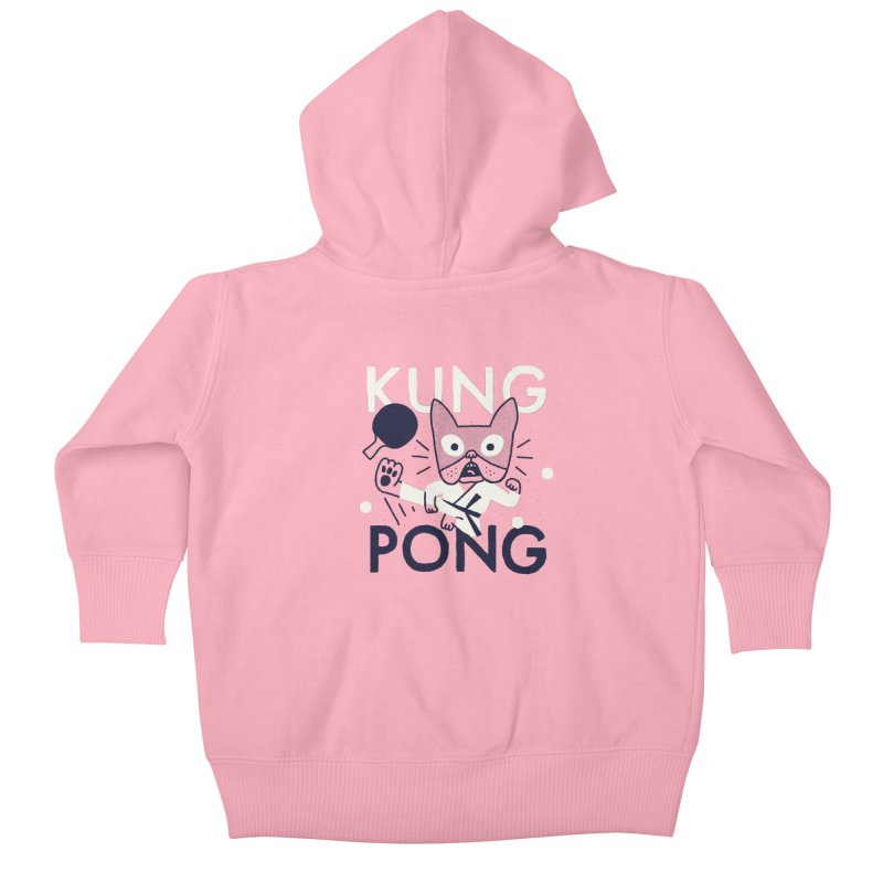 Kung Pong Kids Baby Zip-Up Hoody by Mauro Gatti House of Fun