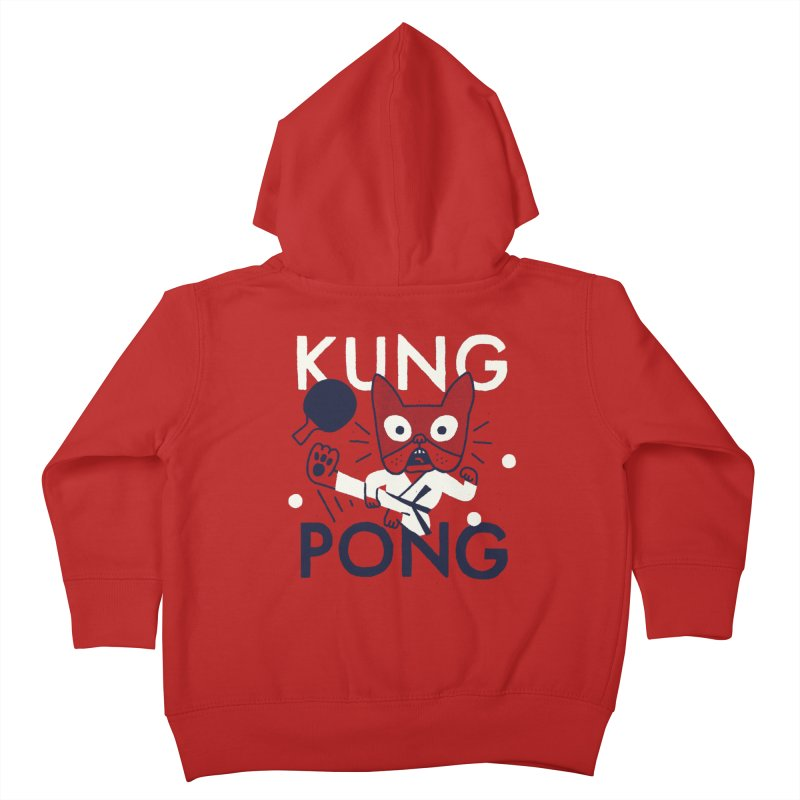 Kung Pong Kids Toddler Zip-Up Hoody by Mauro Gatti House of Fun
