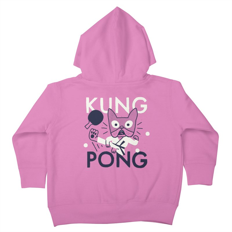 Kung Pong Kids Toddler Zip-Up Hoody by Mauro Gatti House of Fun